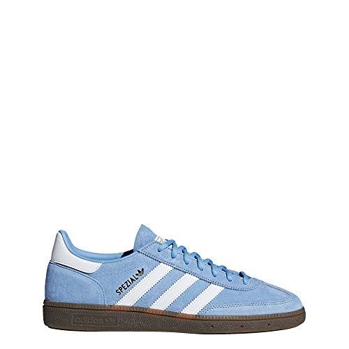 adidas Handball Spezial Schuhe Herren, Blau (Hellblau / Wolkenweiß / Gummi.), 42 EU