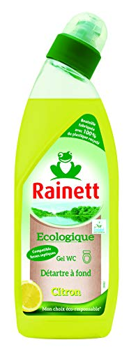 Rainett Gel WC Ecologique Citron Ecolabel 750 ml