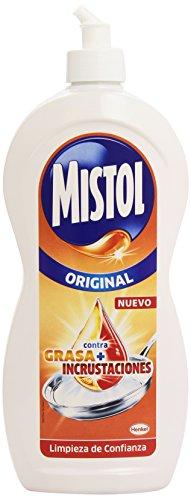 MISTOL Original - Lavavajillas - Contra grasa + incrustaciones, 900 ml, [Pack de 4x 900 ml]