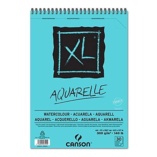 XL Aquarelle 300g/m² com 30 folhas formato A4