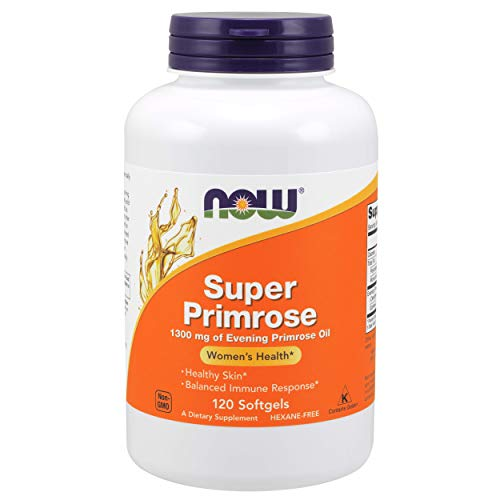 NOW Super Primrose 1300 mg,120 Softgels