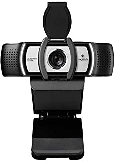 Logi C930c 1080P HD Video Webcam - with Privacy Shutter - 90-Degree Extended View, Microsoft Lync 2013 and Skype Certified - International Version