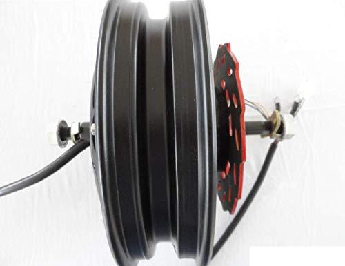 JJ Boom 10inch 48V/60V/72V/ 2000W Electric Motorcycle Engine/DIY e-Scooter Motor/high Torque Motor(48v2000w)