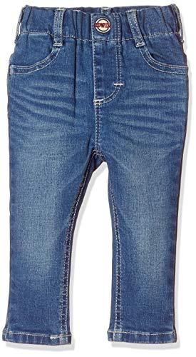 [エドウィン] ジーンズ [どんな服にもあう]キッズ レギュラーストレートパンツ(ストレッチ) 【80~130cm】ETB03 中色ブルー 120