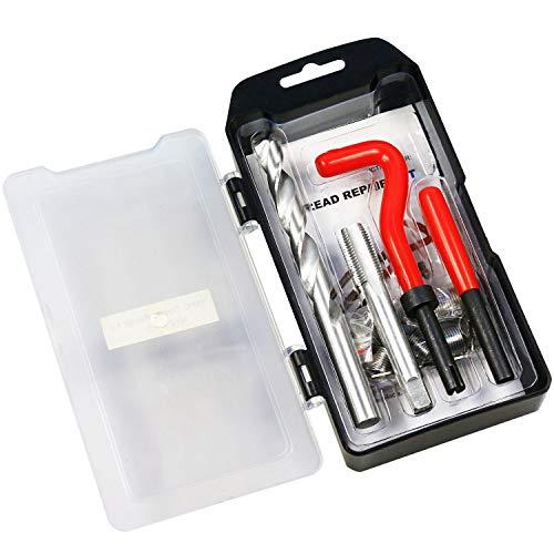 BestsQ Gewinde-Reparatur-Set, M12 x 1,5 mm, metrisches Gewinde-Reparatur-Set, kompatibles Handwerkzeug-Set für Auto-Reparatur (M12-1,5)