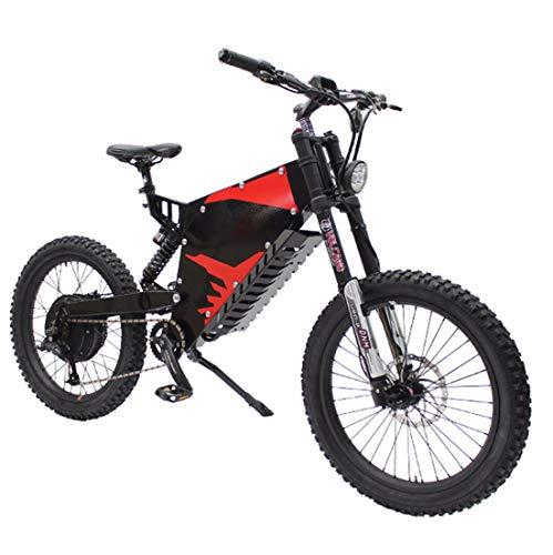 XCBY 72V 5000W Elektro Fahrrad, E-Bike Geschwindigkeit Bis Zu 90 KM/H, 95 Km Lange Reichweite, 72 V, 35 AH Batterie