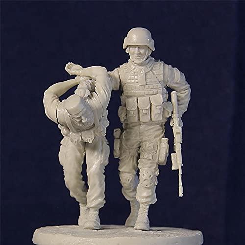 1/35 Figuras para Modelismo De Resina, Fuerzas Especiales Y Terroristas Rusos Modelo Kit Resina, Tema Militar Miniatura Gk, Sin Ensamblar Y Sin Pintar