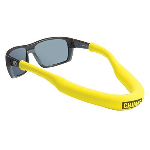 Chums Neo Megafloat Sonnenbrillenhalter – Schwimmendes Neopren-Brillenband für große Rahmen (gelb), Einheitsgröße, 12202108