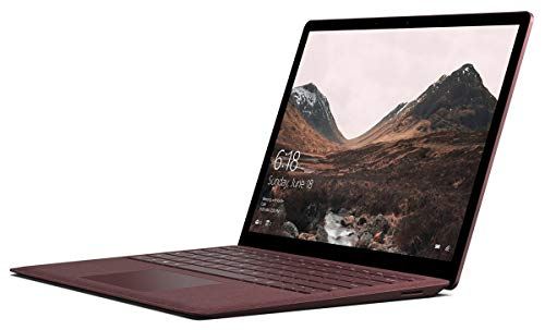 Microsoft Surface Laptop (1st Gen) DAJ-00041 Laptop (Windows 10 S, Intel Core i7, 13.5' LCD Screen, Storage: 256 GB, RAM: 8 GB) Burgundy