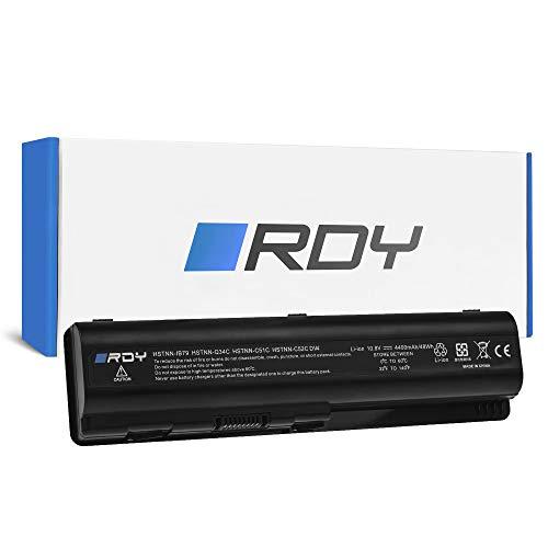 RDY Laptop Battery for HP Pavilion DV6-1131TX DV6-1132EG DV6-1132SA DV6-1132TX DV6-1133EA DV6-1133EG DV6-1133ET DV6-1133SA DV6-1133TX (4400mAh 10.8V)