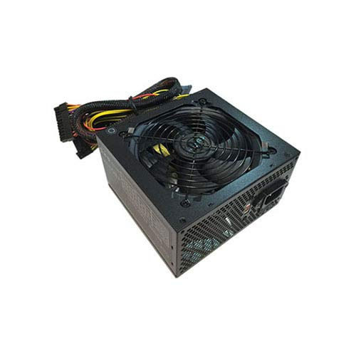 APEVIA ATX-AR500 Astro 500W ATX Power Supply with Auto-Thermally Controlled 120mm Fan, 115/230V Switch, All Protections