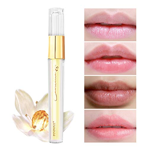 Baume à Lèvres, Lip Balm, Lip Plumper Gloss, Rouge à Lèvres, Lip Gloss, Gloss à Lèvres, pour entièrement la Lèvre pleines rapidement, Brillant à Lèvres Clair, Renforcer les Lèvres Hydratées