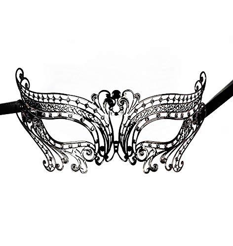 JapanAttitude Masque loup vénitien élégant gothique Chic