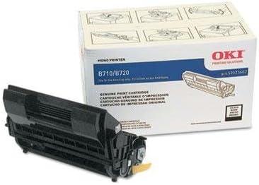 Oki - 52123602 High-Yield Toner 20000 Page Yield Black