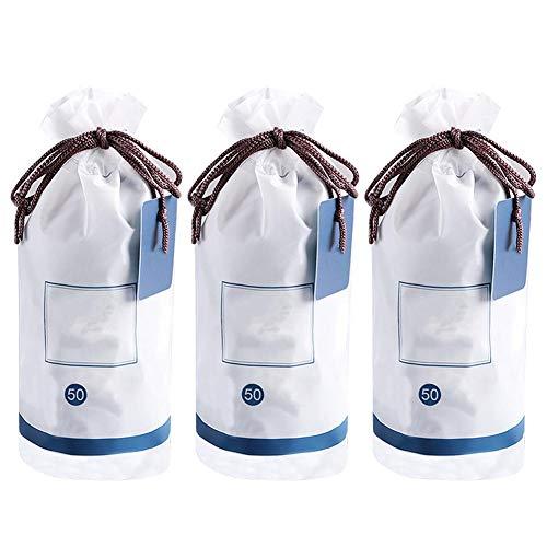 3 zakken gecomprimeerde gezichtshanddoek, draagbare wegwerp gecomprimeerde gezichtshanddoek Handdoek Zachte katoenen gezichtsreinigingshanddoek