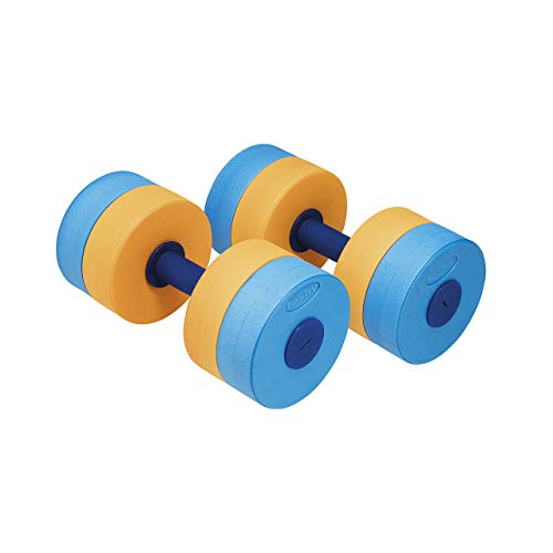 Fashy Flexible Aqua de Mancuernas, Azul de Naranja, One Size