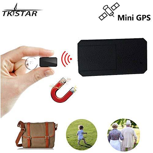 TKSTAR Mini GPS Tracker ,Strong Magnet Anti-thieft Real Time Tracking Device Anti-Lost GPS Locator for Kids /Senior /Personl Travel TK901