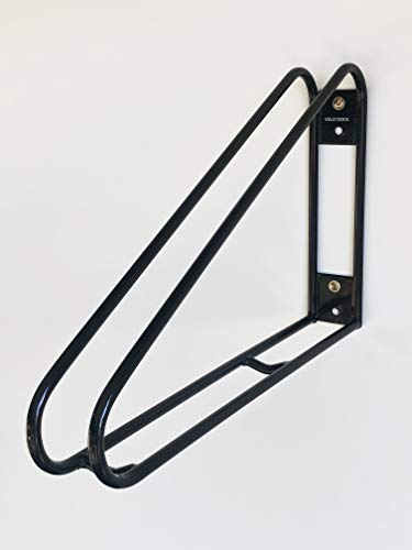 Velo Dock - Bike Storage Rack - Vertical Wall Mounted – Simple, Space-Saving and Secure Bicycle Storage Solution for Your Home, Garage or Commercial Application.