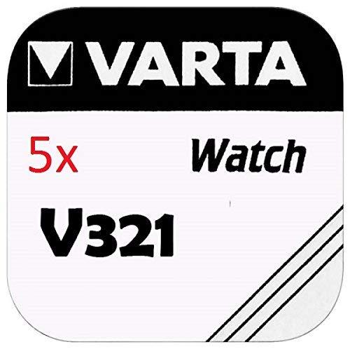 VARTA KNOPFZELLEN 321 SR616SW (5 Stück, V321)