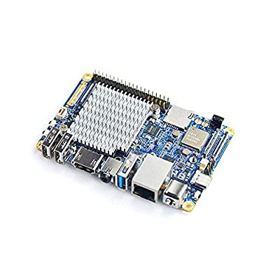 FriendlyElec NanoPC-T4 Rockchip RK3399 Single Board Computer Support Android 8.1 and Lubuntu 16.04 for AI Applications and Machine Learning