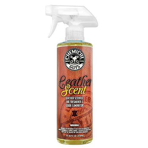 Chemical Guys AIR_102_16 Leather Scent Premium Air Freshener and Odor Eliminator