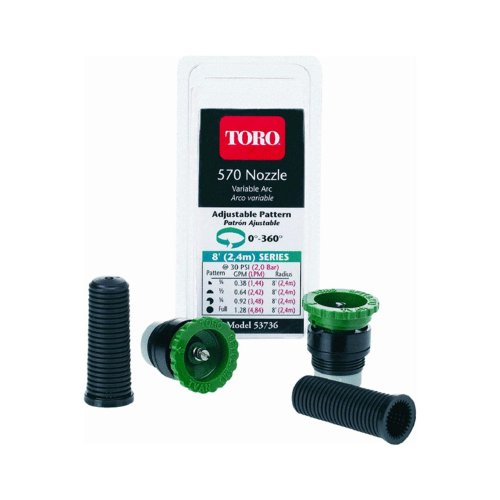 Toro 53736 570 MPR Adjustable Variable Arc Nozzle with 8' Throw