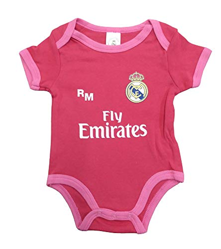 Real Madrid FC Real Madrid FC Baby Mädchen (0-24 Monate) Set Rot, Rot 80
