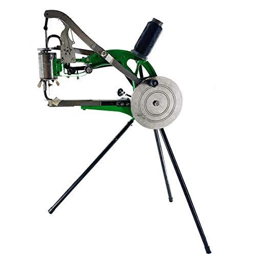 Cozyel Máquina de reparación de Zapatos Máquina de Coser Herramientas para zapateros con Soporte Tipo trípode, Agujas y bobinas de Nylon
