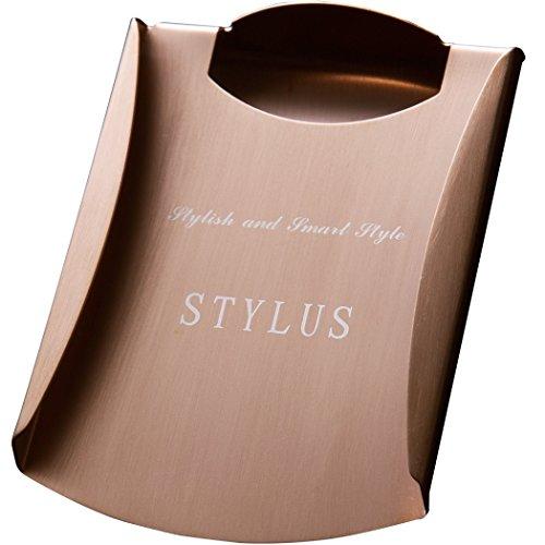 STYLUS stylish and smart style スタイリッシュ マネークリップ (ローズゴールド) 【日本正規代理商品】