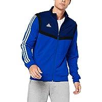 Adidas Tiro 19 Polyester Jacke Chaqueta Deportiva, Hombre, Bold Blue/White, L