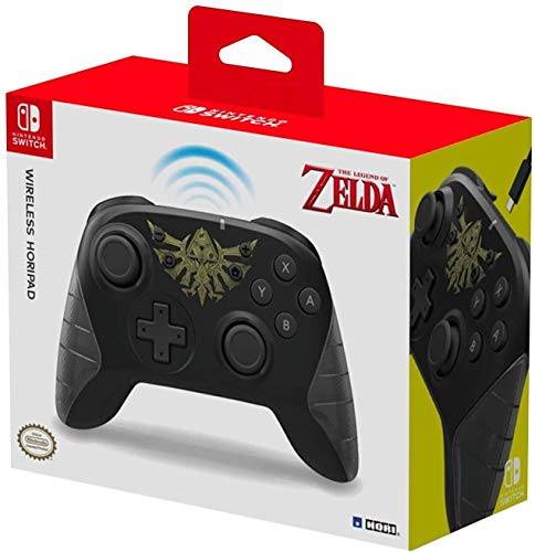 Hori Controller Horipad Wireless (The Legend of Zelda) - Ufficiale Nintendo - Nintendo Switch