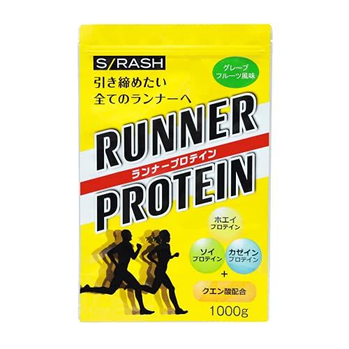 S/RASH ランナープロテイン スラッシュ RUNNER PROTEIN (グレープフルーツ風味, 1�s)