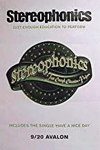 STEREOPHONICS - JUST ENOUGH EDUCATION TO PERFORM 24x36 POSTER P997