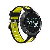 Künstliche intelligente Smartwatch Domino DM58 0,95 Zoll OLED Großes Touchscreen-Display Sport Smart Armband, IP68 Wasserdicht und Staubdicht, Unterstützung...