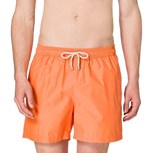 Punto Blanco Basic Line Bañador para Hombre, Naranja, Grande