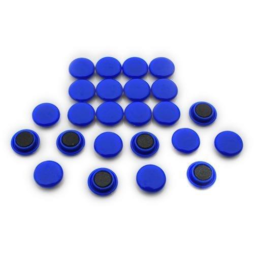 Magnet Expert Conseil petite planification et Avis aimantées - Bleu (1 paquet de 24)