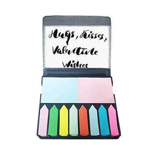 Knuffels Kussen Valentine Wensen Quote Zelf Stick Note Kleur Pagina Marker Box