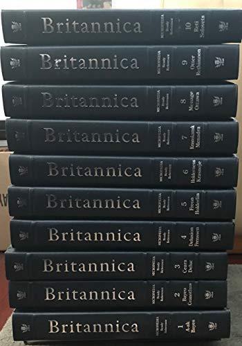 The New Encyclopedia Britannica Complete 32 Volume Set, 15th (Platinum) Edition,1990
