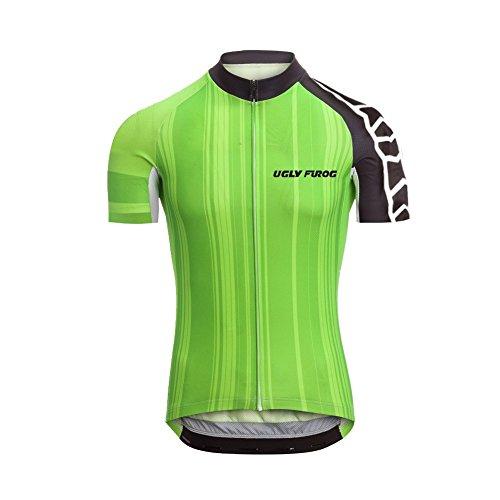 Uglyfrog Frühling Jersey Fahrradtrikot Polyester Gemütlich Kurzarm Shirt Damen Breathable Radfahren Fahrrad Kurze Hülsen Fahrrad Hemd Männer Kurzarm Fahrradbekleidung Radfahren