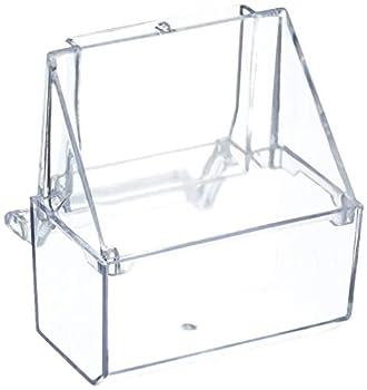 Arquivet Mangeoire de Rechange pour Petites Cages à Oiseaux 7 x 7 x 7 cm
