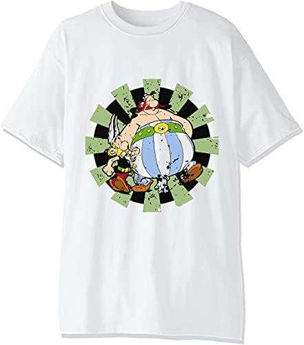 Camiseta para hombre con dos superaldeanos franceses.
