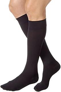 JOBST Relief 30-40 mmHg Compression Socks, Knee High, Closed Toe, Black, Large