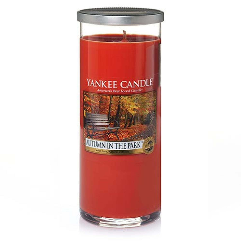 ヒールラフレシアアルノルディ割り当てるYankee Candle Autumn In The Park Large Perfect Pillar Candle、新鮮な香り