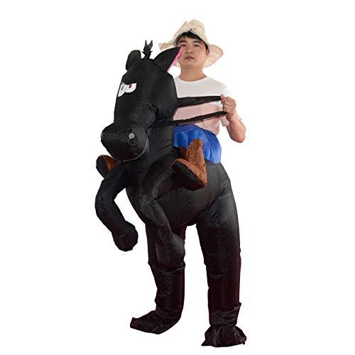 maofan Alien Opblaasbare Kostuums, Partij Kostuums, Halloween Kostuums Donker paard