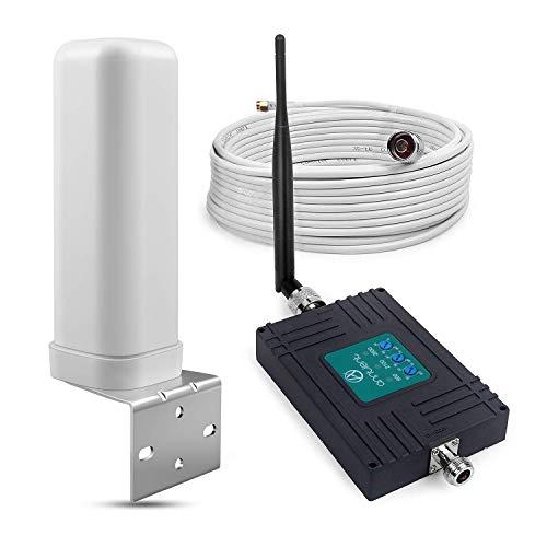 ANNTLENT Amplificador Señal Movil 2G 3G 4G Tri-Band Repetidor gsm 900/2100/2600MHz Amplificador Cobertura Movil Mejorar la Red y Llamar para Movistar/Orange/Yoigo/Vodafone