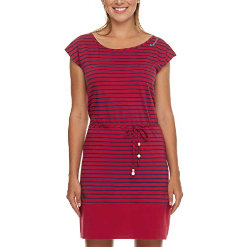 Ragwear Soho Stripes Dress Chili Red S