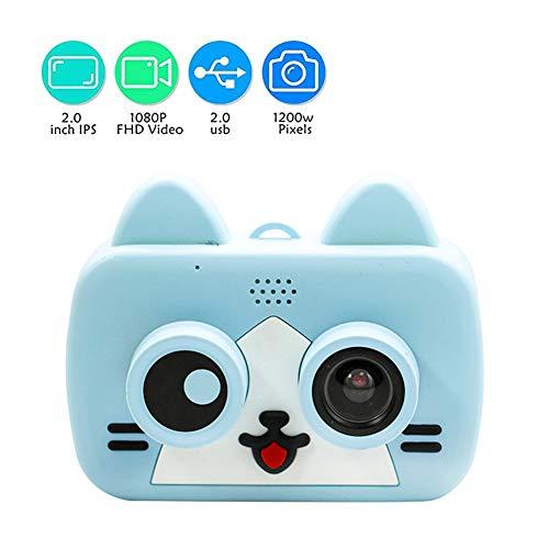 Kids Digital Camera, 12.0 Megapixel Kamera Mit Einer Kindgerechten, Niedlichen Silikonhülle,Geeignet Als Geburtstagsgeschenk, Spielzeug, 2.0