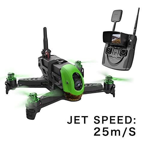 4. Hubsan H123D X4 Jet 4CH 5.8G RC Micro Speed Racing FPV Quadcopter with HD 720P Camera RTF