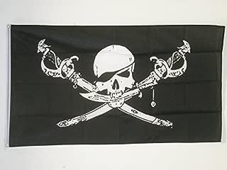 AZ FLAG Pirate Brethren of The Coast Flag 5' x 8' - Pirates Big Flags 150 x 250 cm - Banner 5x8 ft