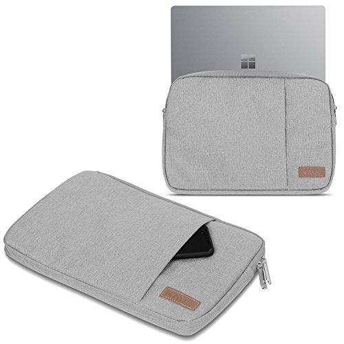 UC-Express Sleeve Hülle Trekstor Primebook C13 Hülle Tasche Notebook Schutzhülle Cover Hülle, Farbe:Grau
